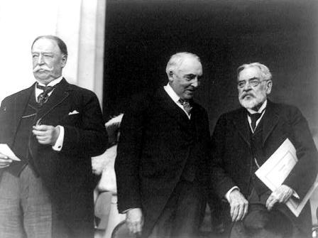 Lincoln with Harding and Taft